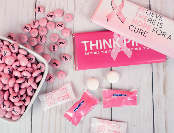 Breast Cancer Awareness Candy