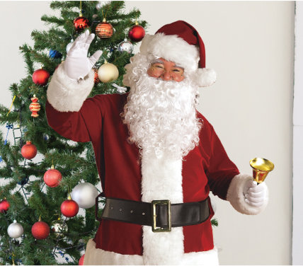 50% OFF SANTA HATS & COSTUMES