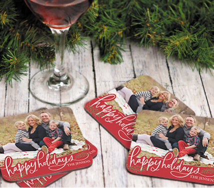 50% OFF CHRISTMAS COASTERS