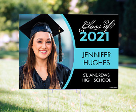 Personalized Graduation Lawn Signs