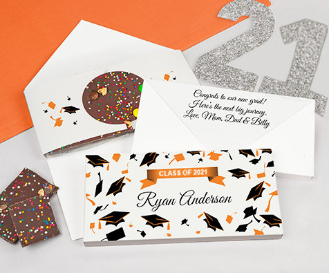 orange grad gourmet infused bars