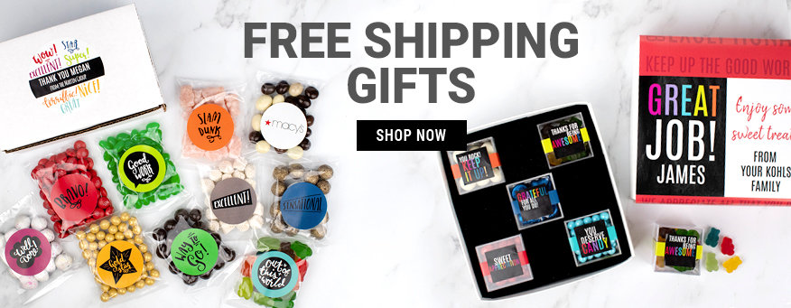 Free Shipping on Corporate Gifts