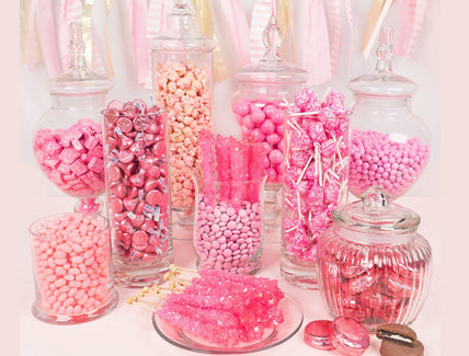 Adult Birthday Candy Buffets