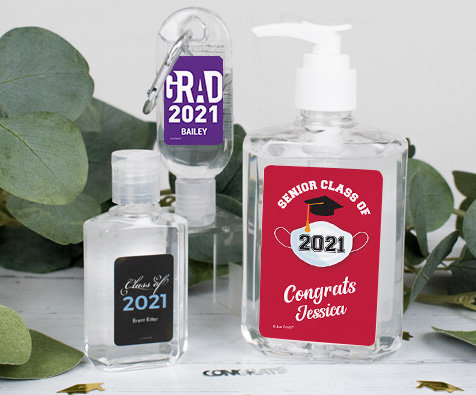 Graduation Hand Sanitizers