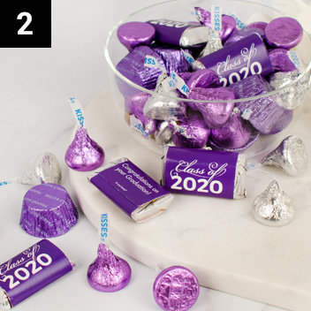 Personalized Graduation Candy Mixes