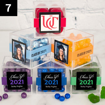 Graduation Favor Cubes