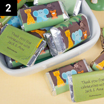 Personalized Baby Shower Hershey's Minis