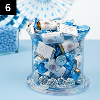 Personalized Baby Shower Candy Mixes