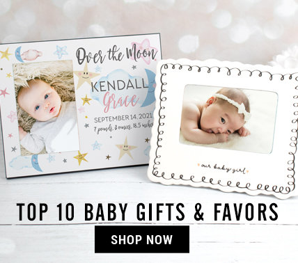 Top 10 Baby shower Gifts & Favors