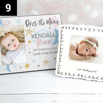 Baby Shower Picture Frames