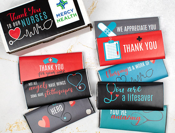 Nurse Appreciation Candy Favors and Gifts