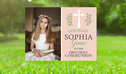 Communion Yard Signs