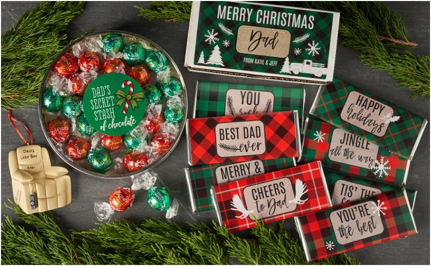 Personalized Holiday Gifts for Him