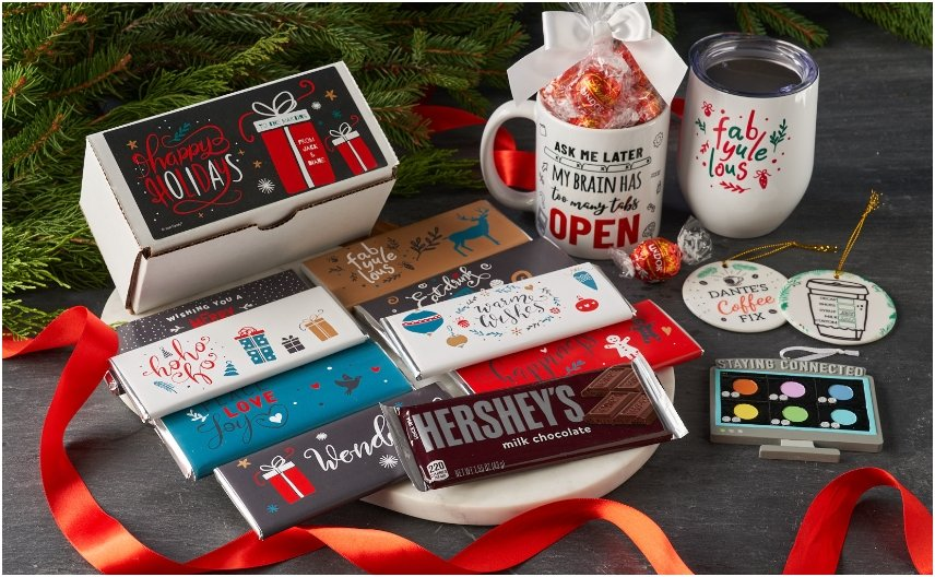 Personalized Holiday Gifts for Co-workers