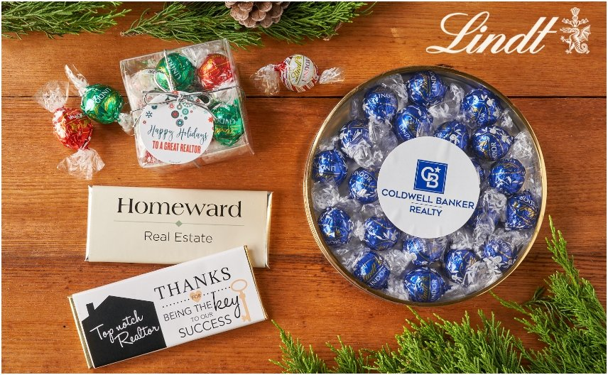 PERSONALIZED HOLIDAY GIFTS FOR REAL ESTATE