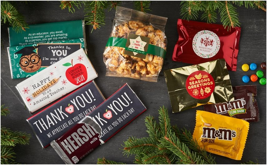 PERSONALIZED HOLIDAY GIFTS FOR TEACHERS AND EDUCATION