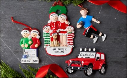 Personalized Ornament Gifts