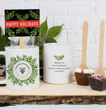 PERSONALIZED HOLIDAY CHOCOLATE GIFTS