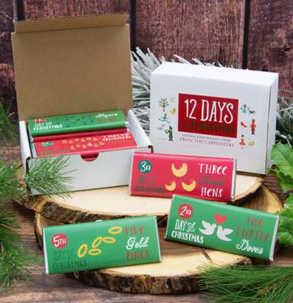 PERSONALIZED CANDY GIFT BOXES