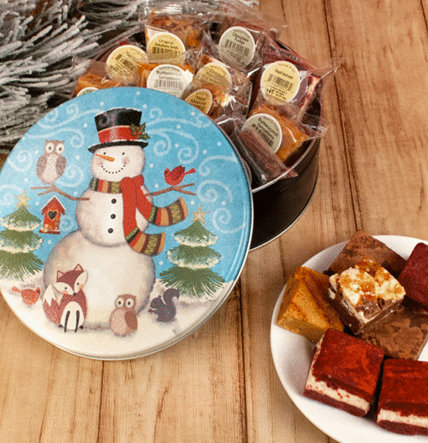PERSONALIZED HOLIDAY BROWNIE GIFTS