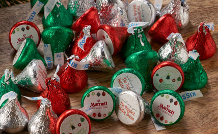 PERSONALIZED CHRISTMAS KISSES