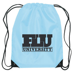 Personalized Business Add Your Logo One Color Drawstring Bag