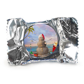 Christmas York Peppermint Patties- Tropical Snowman