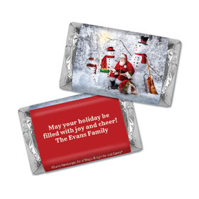 Personalized Hershey's Miniatures - Christmas Santa's Gifts