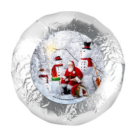 "Christmas 1.25"" Stickers - Santa's Gifts (48 Stickers)"