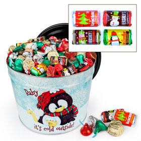 Baby It's Cold Outside 10 lb Hershey's Holiday Mix Tin