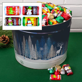 Crystal Evening 14 lb Hershey's Holiday Mix Tin