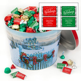 Personalized Christmas Mail 14lb Happy Holidays Assortment