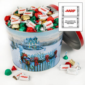 Personalized Christmas Mail 10 lb Merry Christmas Hershey's Assortment