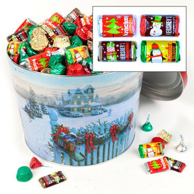 Christmas Mail 10 lb Hershey's Holiday Mix Tin