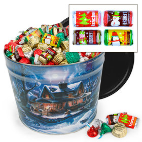 First Homecoming 10 lb Hershey's Holiday Mix Tin