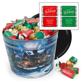 Personalized First Homecoming 10 lb Hershey's Holiday Mix Tin