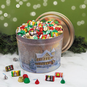 Home for the Holidays 14 lb Hershey's Holiday Mix Tin