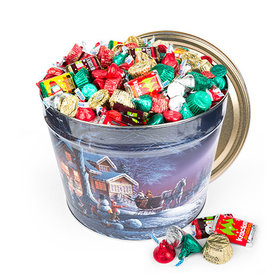 Winter Wonderland 10 lb Hershey's Holiday Mix Tin