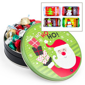 Santa with Gifts 1 lb Hershey's Holiday Mix Tin