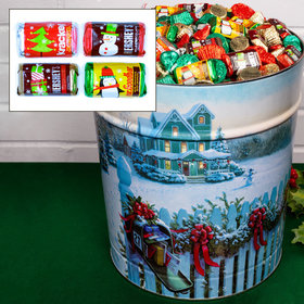 Christmas Mail 20 lb Hershey's Holiday Mix Tin