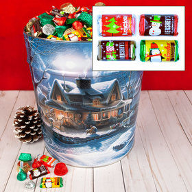 First Homecoming 20 lb Hershey's Holiday Mix Tin