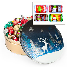 Crystal Evening 2lb Hershey's Holiday Mix Tin