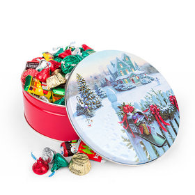Christmas Mail 2 lb Hershey's Holiday Mix Tin