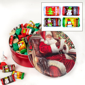 Checking It Twice 2 lb Hershey's Holiday Mix Tin
