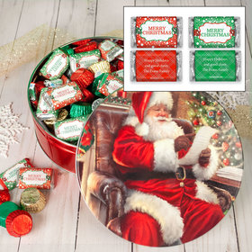 Personalized Checking It Twice 2lb Merry Christmas Assortment