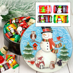 Forest Friends 2 lb Hershey's Holiday Mix Tin