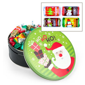 Santa with Gifts 2 lb Hershey's Holiday Mix Tin