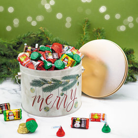 Very Merry 3.5 lb Hershey's Holiday Mix Tin
