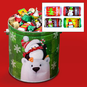 Cold But Cozy 5lb Hershey's Holiday Mix Tin