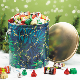 Touch of Gold 5lb Hershey's Holiday Mix Tin